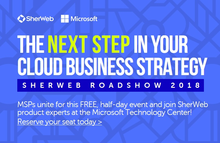 sherweb roadshow the next step in your cloud business strategy