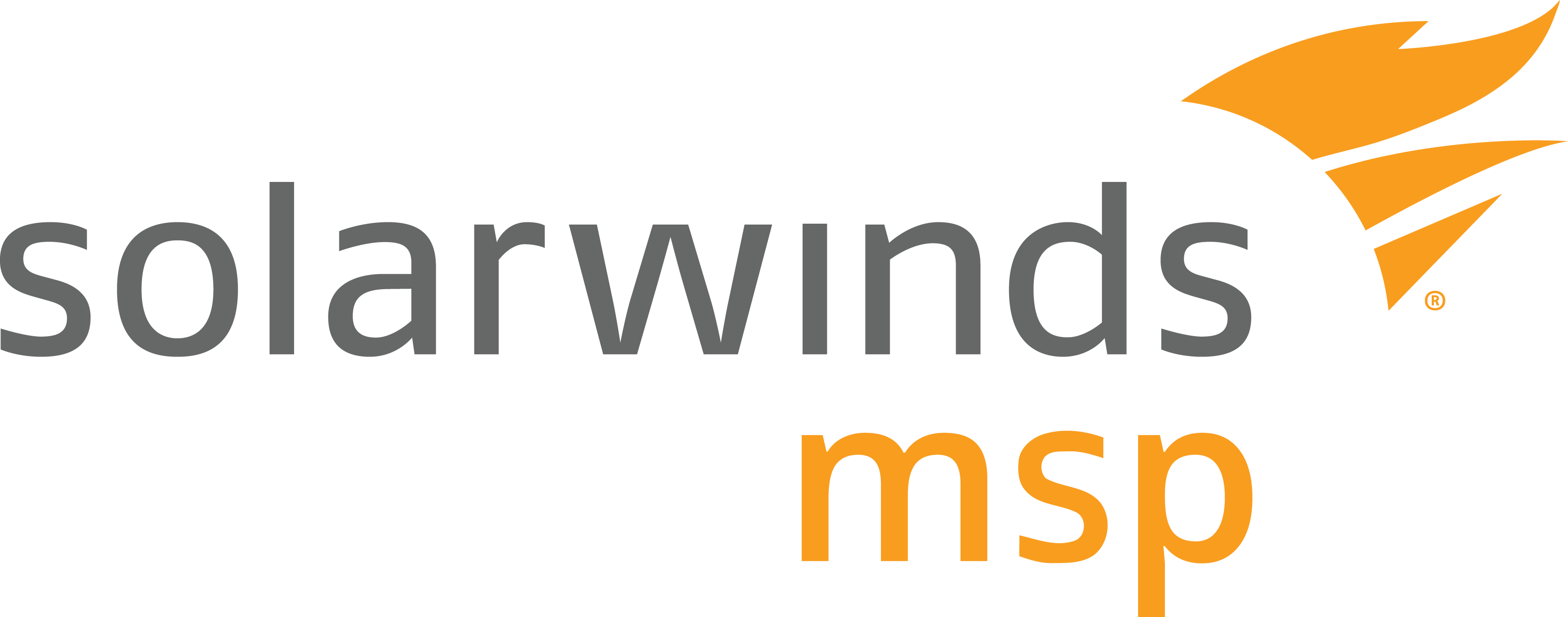 SolarWinds MSP Logo Full Colour