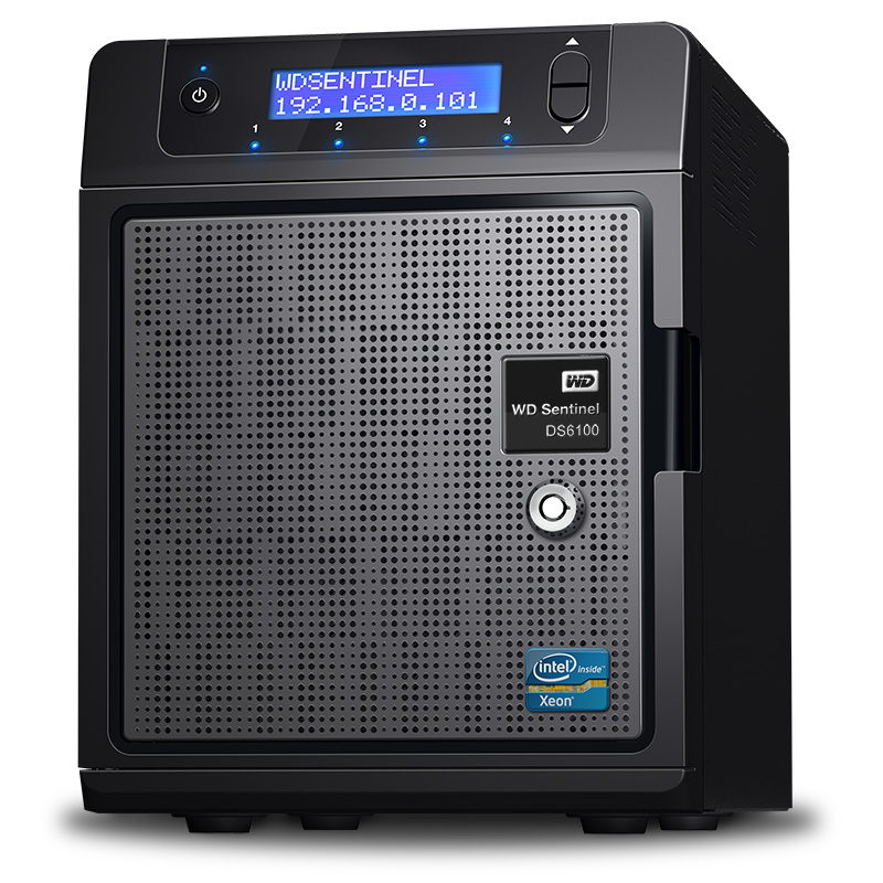 WD Sentinel DS6100 101013