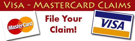 Visa MasterCard Claims