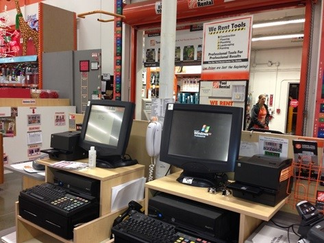 XP at Home Depot